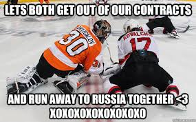 Flyers Meme - ilya bryzgalov jokes stuff i miss about the philadelphia flyers