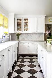 black and white kitchen floor images white and black harlequin kitchen floors transitional