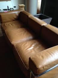 corbusier canapé canapé 3 places lc2 le corbusier d occasion vintage design