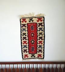 navajo home decor vintage southwestern wall tapestry kilim print navajo wall