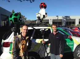 Yahoo Maps Street View Inside Google Street View From Larry Page U0027s Car To The Depths Of