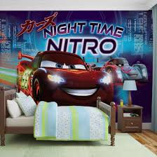 Kids Bedroom Sets Walmart Disney Cars Window Curtains Pixar Toddler Decorations Lightning