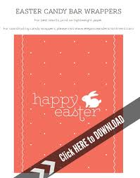 printable easter candy bar wrappers today u0027s creative life