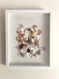 Sea Life Home Decor Unique Seashell Collage Art Sea Shell Home Decor Beach