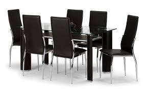 6 seater dining table and chairs boston 6 seater dining set glass dining sets furn on