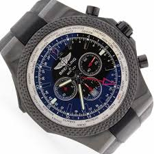 breitling bentley back breitling bentley gmt midnight carbon limited edition black dial