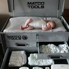 toolbox changing table this is great for the gearhead parent