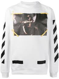off white men clothing sweatshirts new arrival off white men
