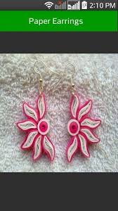 paper ear rings quilling paper earring android apps on play
