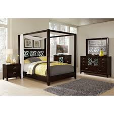 Bedroom Collections In White King Size Canopy Bed Plans Roth Decor