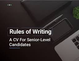 Dos And Donts Of Resume Writing A Cv The Dos And Don U0027ts For Senior Level Candidates