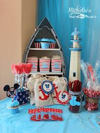 mickey mouse party favors nautical mickey mouse party part 1 s party plan it
