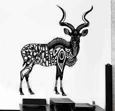 popular african wall murals buy cheap african wall murals lots animal series wall sticker vinyl art design antelope wall mural homeroom art decor special mural african