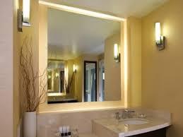 Bathroom Mirror Frame by Lighted Bathroom Mirror Frame Doherty House Three Advantages