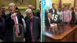 trump just got last laugh after chicago cub was caught u0027flipping