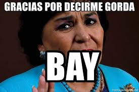 Carmen Salinas Meme Generator - gracias por decirme gorda bay carmen salinas meme meme generator
