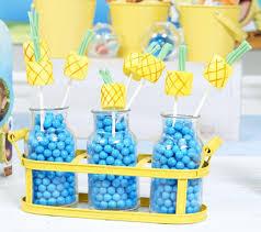 Spongebob Centerpiece Decorations by Personalized Spongebob Squarepants Party Birthday Express