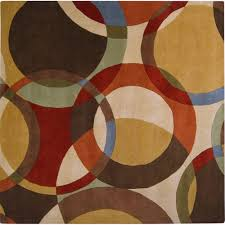 Modern Square Rugs Best Ideas Brown Artistic Weavers Square Area Rugs For Modern