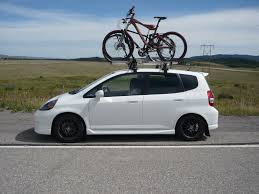 nissan leaf bike rack hitch roof u0026 c u0026er trailer hitches to the roof of small cars allows
