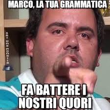Marco Meme - marco la tua grammatica mememic7monella meme on memegen