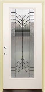 32x80 Exterior Door Mastercraft As 686 Aspen 32 X 80 Prefinished White Oak N Steel