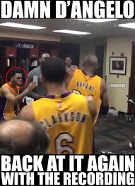 Russell Meme - damn d angelo russell chill out yo message board basketball