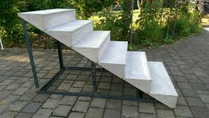 stufen treppe treppe beton stufen haus garten terrasse treppen in baden