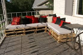 Patio Furniture Pallets by Diy Recycled Wood Pallet Sectional Reclaimed Wreckage Unique