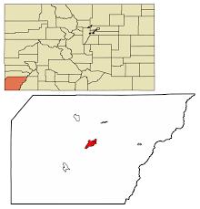 Montrose Colorado Map by Cortez Colorado Wikipedia