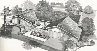 Mid Century House Plans Vintage House Plans New And Refreshing Mid Century Contemporary