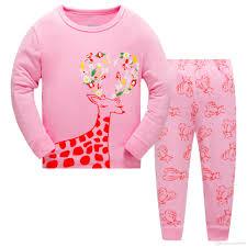 hotsale pajamas for deers nightwear pink pyjamas two