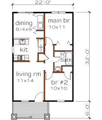 Floor Plan 4 Bedroom Bungalow Bungalow 2 Bedroom House Plans