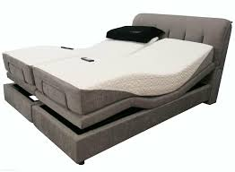 bedroom double grey upholstered platform bed frame with twin