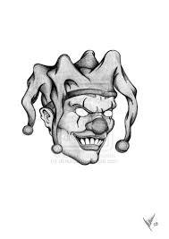 a clown face tattoo design tattoos book 65 000 tattoos designs
