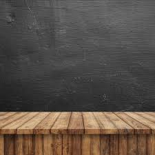wooden floor with a blackboard photo free