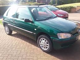 peugeot 106 a peugeot 106 5 months test left on it green in colour starts