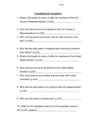 flashcards constitution