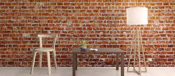 brick effect wallpaper u0026 brick wall designs pictowall