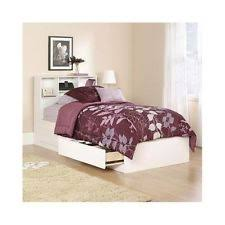twin storage bed ebay