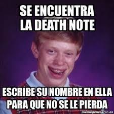 Memes De - memes de death note netflix para reir un rato humor taringa