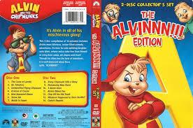 alvin and the chipmunks alvinnn edition dvd cover 2008 r1