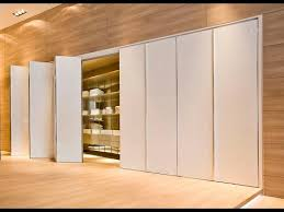 Different Types Of Closet Doors Concertina Doors Opening A Corner On A Wardrobe