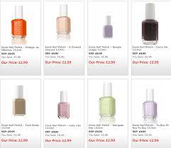 essie nails for only 2 99 u2013 mikhila com