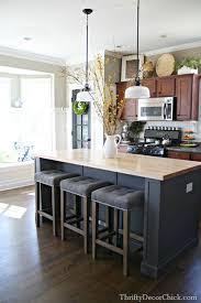 permanent kitchen islands kitchen island bar ideas best 25 kitchen island decor ideas on