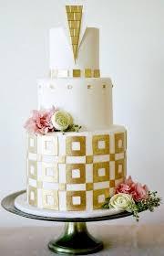 45 breathtaking art deco wedding cakes happywedd com