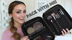 Makeup Travel Bag images Whats in my travel makeup bag pack with me my tips jpg