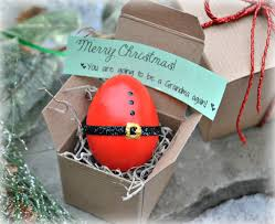 christmas pregnancy announcement message in an egg christmas pregnancy announcement gender
