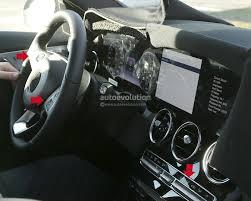 2018 mercedes c class facelift interior spyshots s class digital