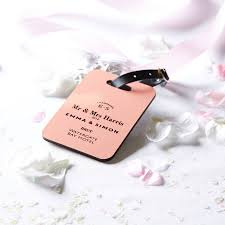 wedding luggage tags personalised wedding luggage tag by coconutgrass
