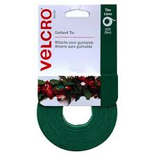 Garland Power And Light Amazon Com Velcro Brand Holiday Garland Ties 30 U0027 X 1 2